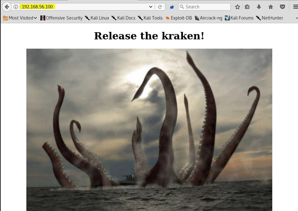 Kraken - Writeup | zc00l blog